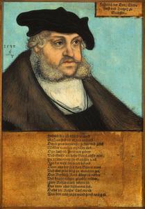 Portret van Frederik III de Wijze