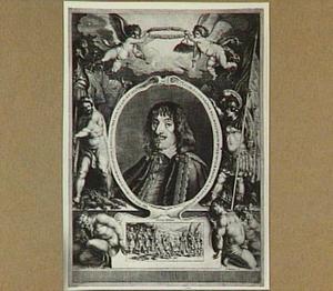 Portret van Johan Casimir, Koning van Polen