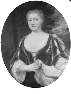 Portret van Johanna Antonia Bernard (1706-1740)