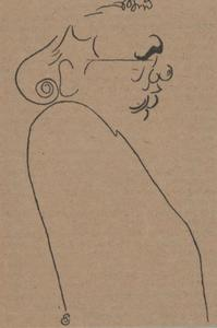 Portret van Julius Rontgen (1855-1932)