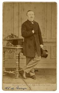 Portret van Hendrik Elias de Bruyn (1815-1878)