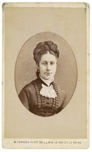 Portret van mogelijk Henriette Bregje Geraldina Louisa Isabella van Hengst (1840-1934)
