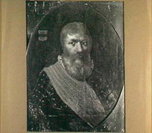 Portret van Berent van Hackfort (1475-1557), echtgenoot van Margriet van Baeck