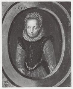 Portretr van een meisje, mogelijk Magdalena den Otter (1598-1637)