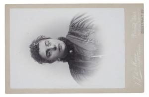 Portret van Elisabeth van Starrenburg (1856-1941)