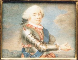 Portret van Willem IV van Oranje- Nassau (1711-1751)