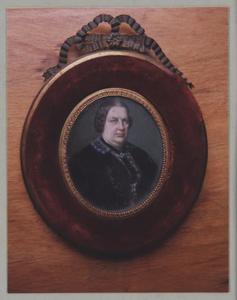 Portret van Francoise Catherine Emilie Elise Alting Siberg (1808-1859)
