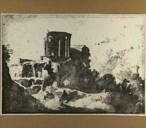 De tempel van de Sibylle in Tivoli