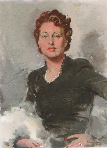 Portret van Marie-Josephine Dikema