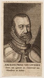 Portret van Lamoraal van Egmond (1522-1568)