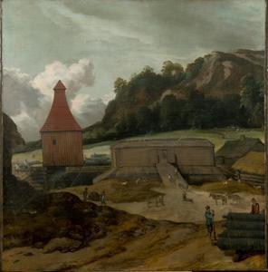 De geschutgieterij van Hendrik Trip te Julitabroeck, Södermanland, Zweden