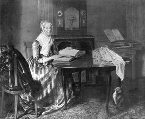 Portret van waarschijnlijk Elisabeth Jannette Hoogstadt (1752-1824)