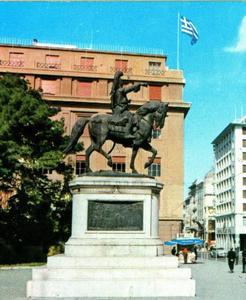 Ruiterstandbeeld van Generaal Theodoros Kolokotronis (1770-1843)