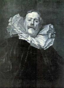 Portret van schilder Antoine Guillemet (1841-1918)
