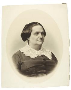 Portret van Adriana Casparina Minetta Pusch Pool (1814-1884)