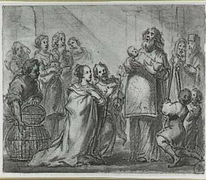 De opdracht van Christus in de tempel (Lucas 2:22-40)