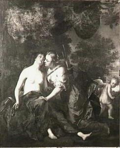 Jupiter als Diana bij Callisto