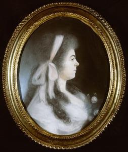 Portret van Christine Cornelia Hoff (1770-1831)