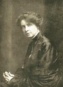 Portret van Florence Kate Upton