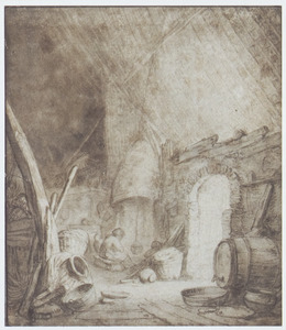 Boerderij-interieur
