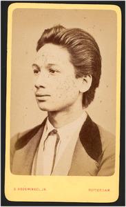 Portret van W. van Braam