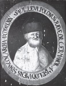 Portret van Saul Ben Arjeh Leib Polonus Lowenstamm (1717-1790)