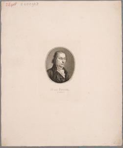 Portret van Hermanus van Brussel (1763-1815)
