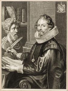 Portret van Caspar Gevaerts (1593-1666)