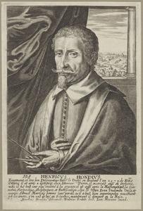 Portret van Hendrik Hondius I (1573-....)