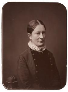 Portret van Gesina Sara Hoek (1845-1928)
