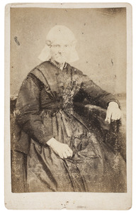Portret van Aafke Willems van der Valk (1800-1872)
