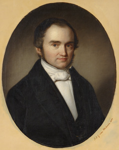 Portret van Abraham Allard Hulshoff (1814-1875)