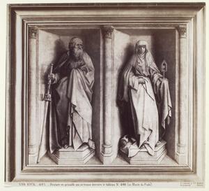 H. Jacobus en H. Clara