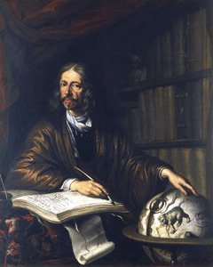 Portret van Johannes Hevelius (1611-1687)