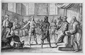 Harald Gille bewijst door de vuurproef de zoon te zijn van de Noorse koning Magnus Barfod