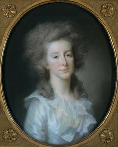 Portret van Frederika Louise Wilhelmina van Oranje-Nassau (1770-1819)