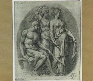 Hercules en twee vrouwen