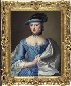 Portret van Elisabeth Blankaart (1720-1760)