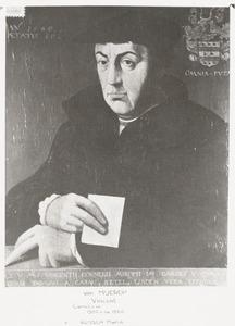 Portret van een man, waarschijnlijk Vincent Cornelisz. van Mierop (1469-1550), bijgenaamd Groote Vincent