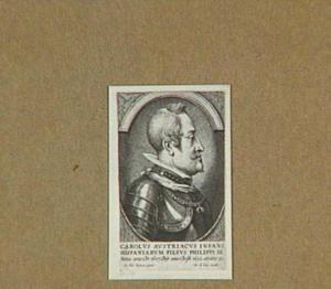 Portret van aartshertog Karel van Oostenrijk