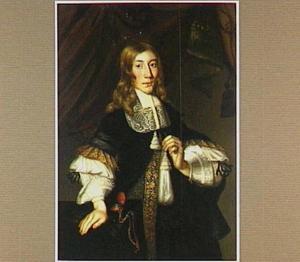 Portret van een man, waarschijnlijk Matthieu de Vicq (1642-?)
