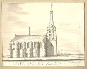 Zutphen, de Nieuwestadskerk anno 1717