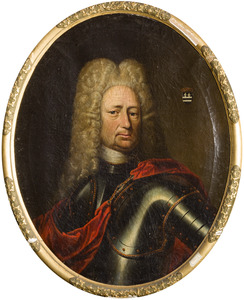 Portret van Frederik Joachim van Rensen (1655-1732)