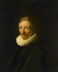 Portret van David de Moor (1598-1643)