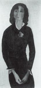 Portret van Hendrina Anna Wilhelmina Marie de Wit (1913- )