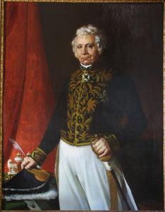 Portret van Hendrik Nierstrasz (1773-1855)