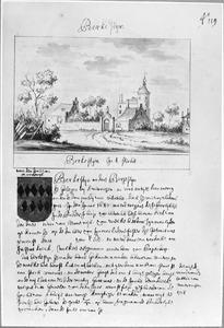 De ridderhofstad Bergestein of Berkestein bij Amerongen, gesloopt ca. 1700