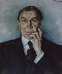 Portret van Cor van der Lugt Melsert (1882-1969)