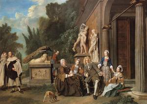 Portret van de Antwerpse familie Bals