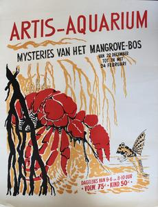 Artis-Aquarium-Affiche: mysteries van het mangrove-bos